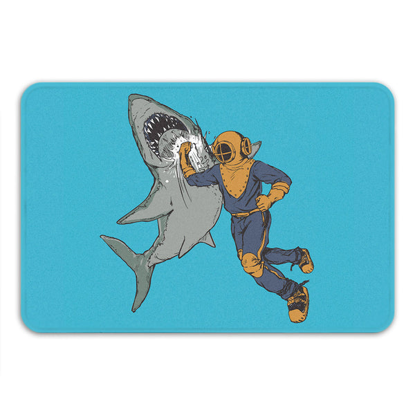 Shark Punch Bath Mat
