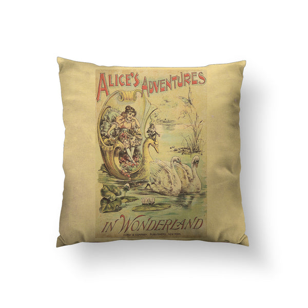 Alice's Adventure Throw Pillow
