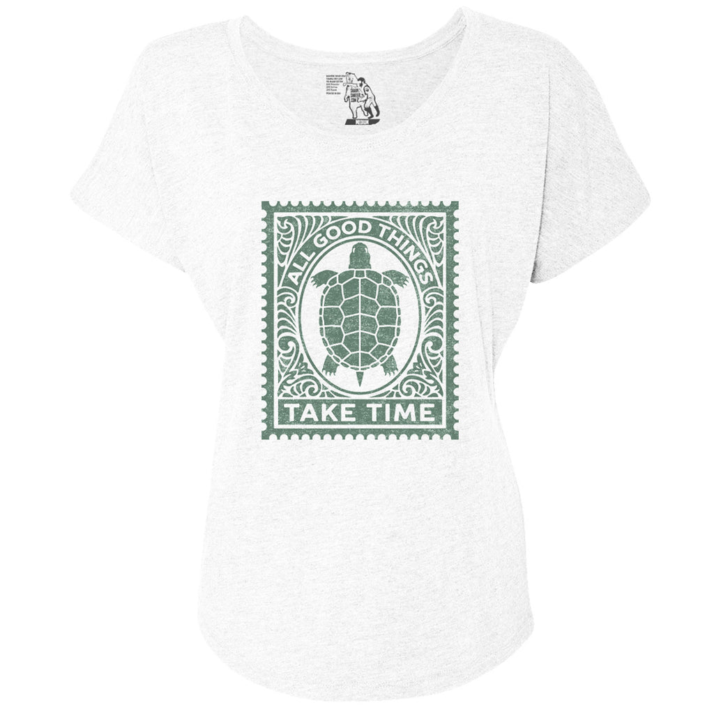 Good Things Women's Graphic Tee Dolman Top