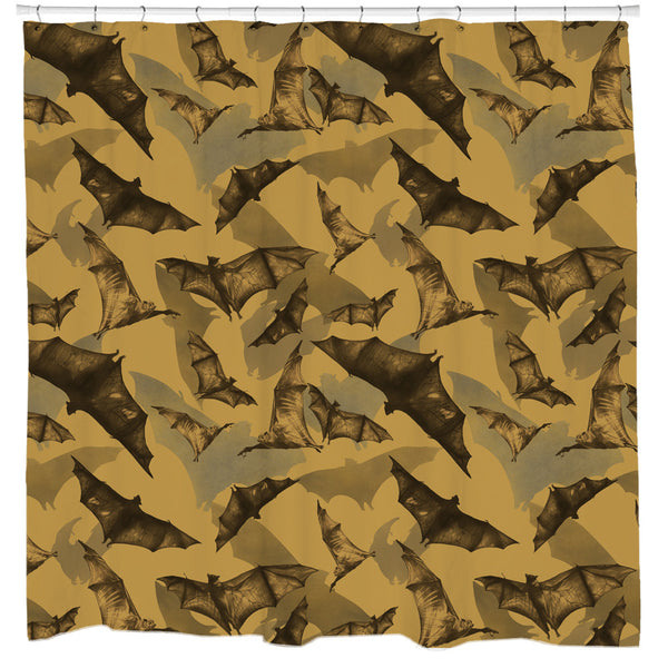 Bats Shower Curtain