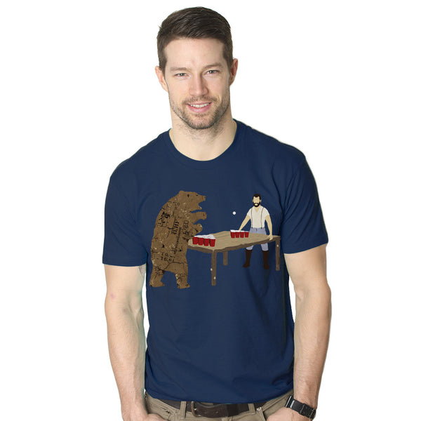 Bear Pong Men's Graphic Tee