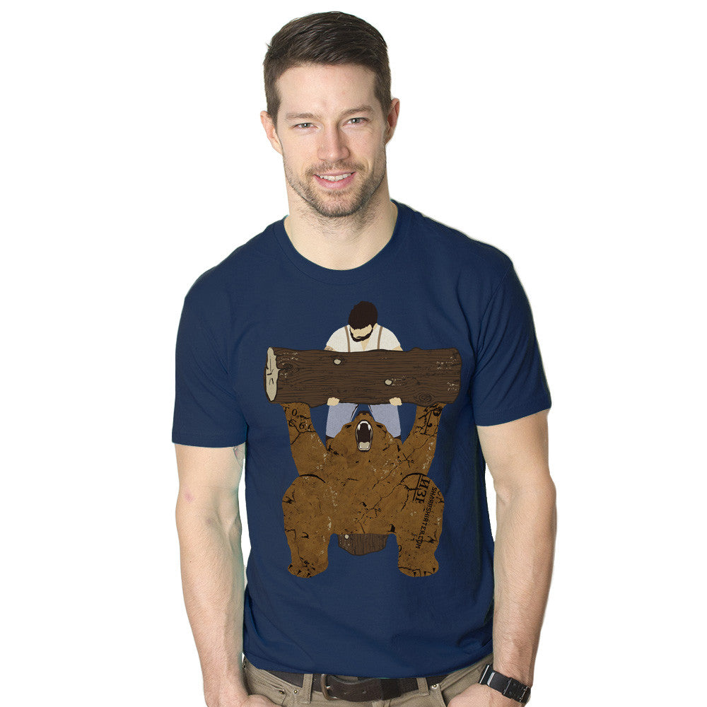 Bear Spotting Men's Graphic Tee