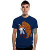 The Bear Strikes Back Men's Graphic Tee