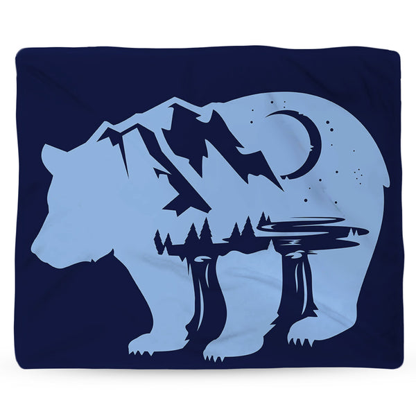 Bearscape Blanket
