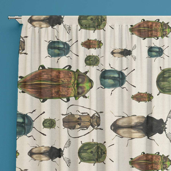 Beetles Window Curtain