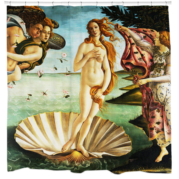 Birth of Venus Shower Curtain