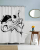 Captain Octopus Shower Curtain