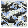 Captives, Panda & Orca Shower Curtain