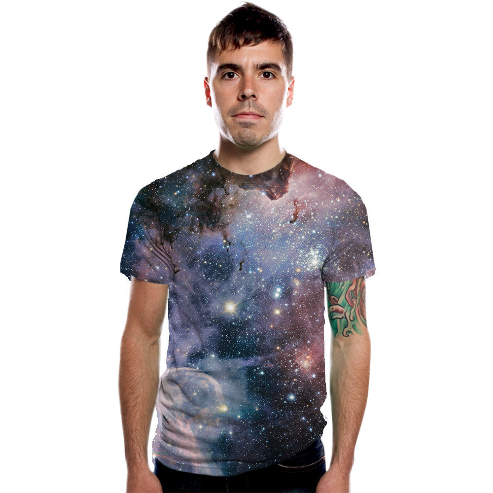 Carina Nebula Men's Graphic Tee