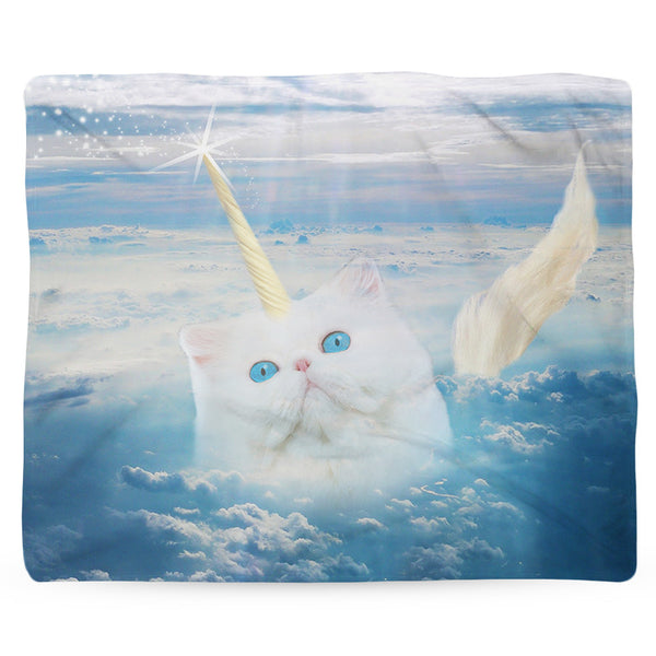 Caticorn Blanket