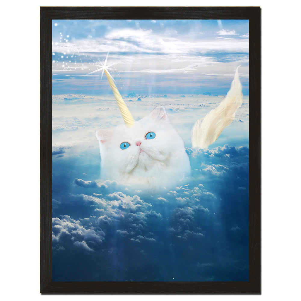 Caticorn Art Print