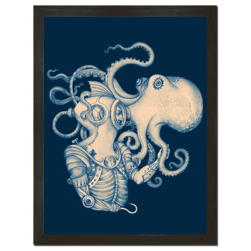 Deep Sea Discovery Art Print