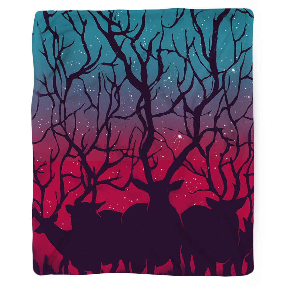 Deer Forest Blanket