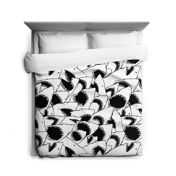Forever Jaws Duvet Cover