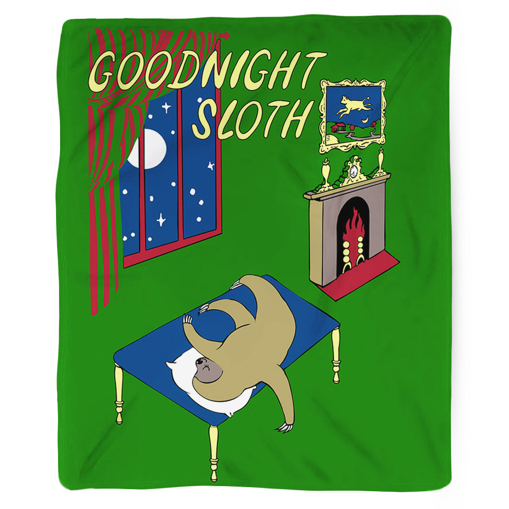 Goodnight Sloth Blanket