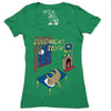 Goodnight Sloth Women's Graphic Tee Deep V-Neck