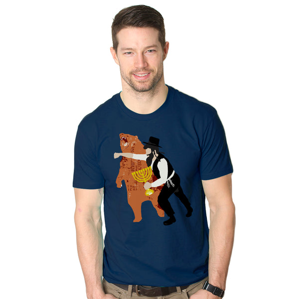 Hanukkah Bear Punch Graphic Tee
