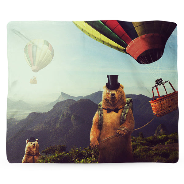 Hot Air Bearoons Blanket