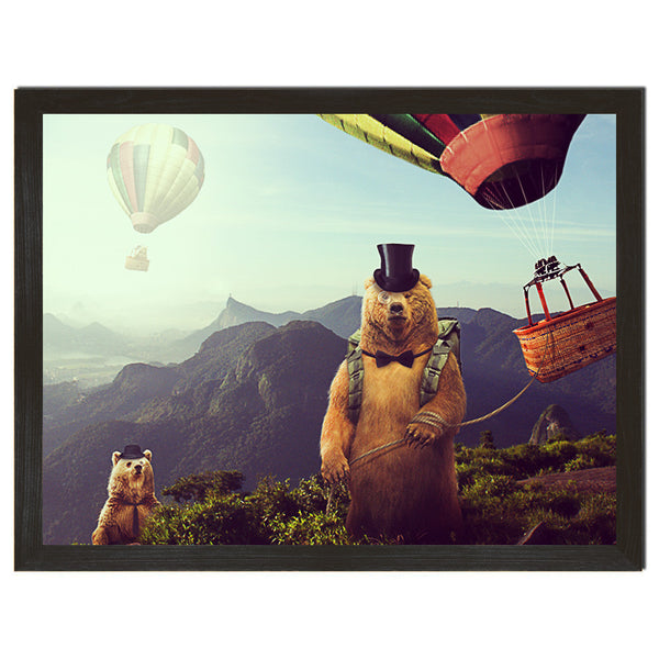Hot Air Bearoons Art Print