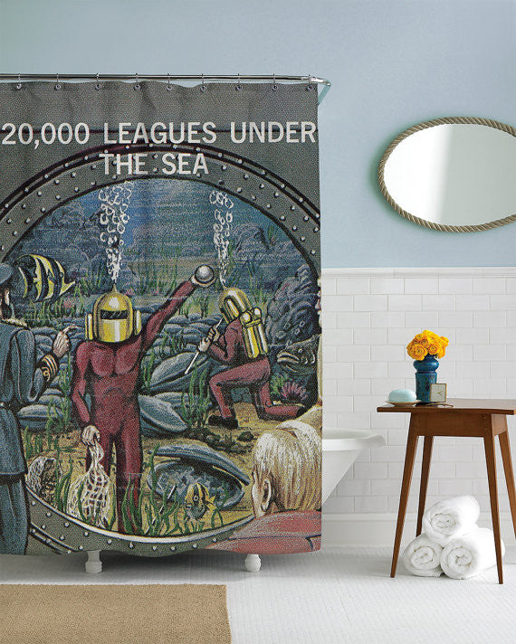 ... 20,000 Leagues Under The Sea Shower Curtain ...