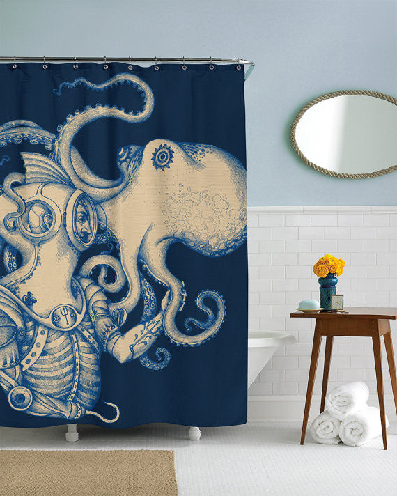 Deep Sea Discovery Shower Curtain
