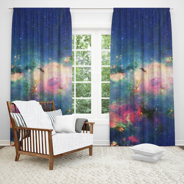 Galaxy Window Curtain