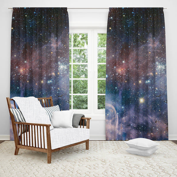 Carina Nebula Window Curtain