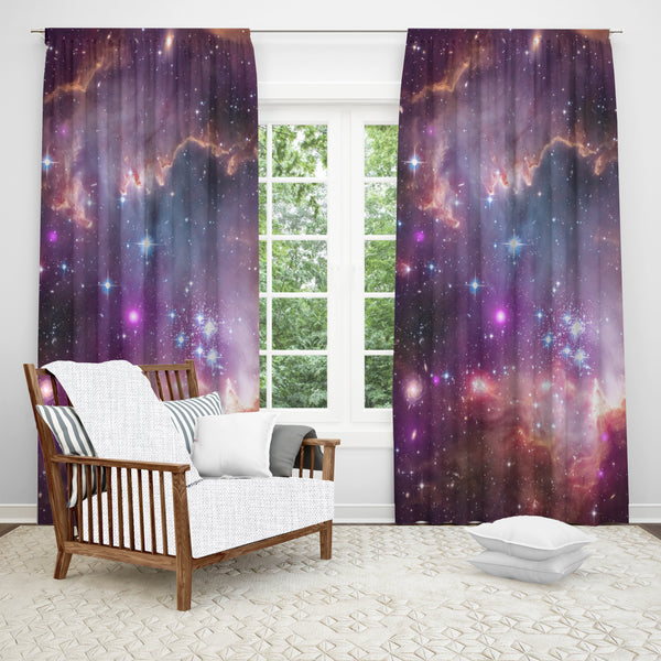 Under the Wing Nebula Window Curtain