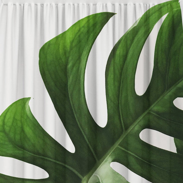 Banana Leaves Window Curtain