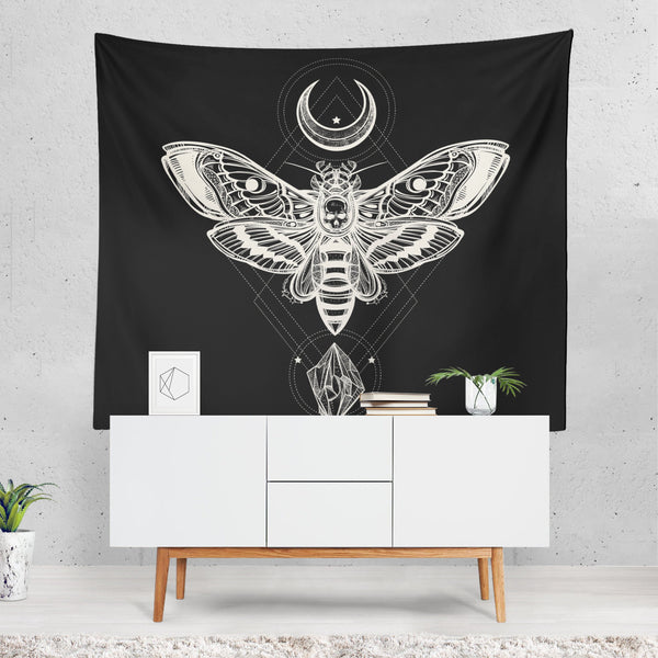 Crystal Moth Tapestry
