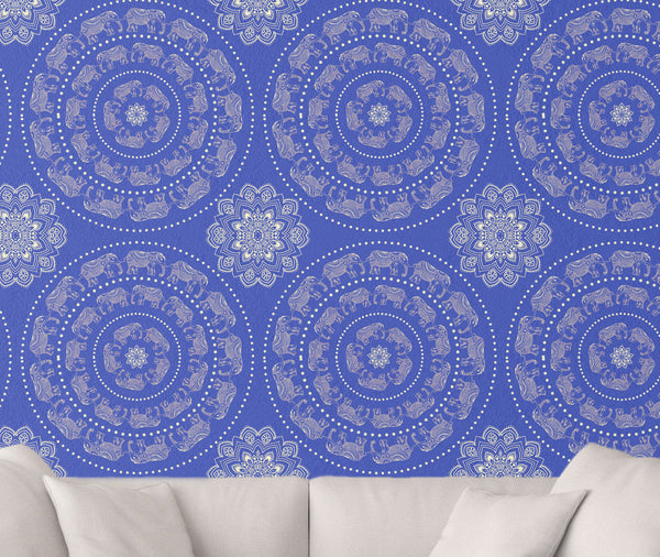 Boho Elephant Wallpaper