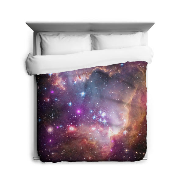 "Under the ""Wing"" of the Small Magellanic Cloud Duvet Cover"