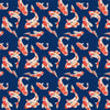Why So Koi Duvet Cover