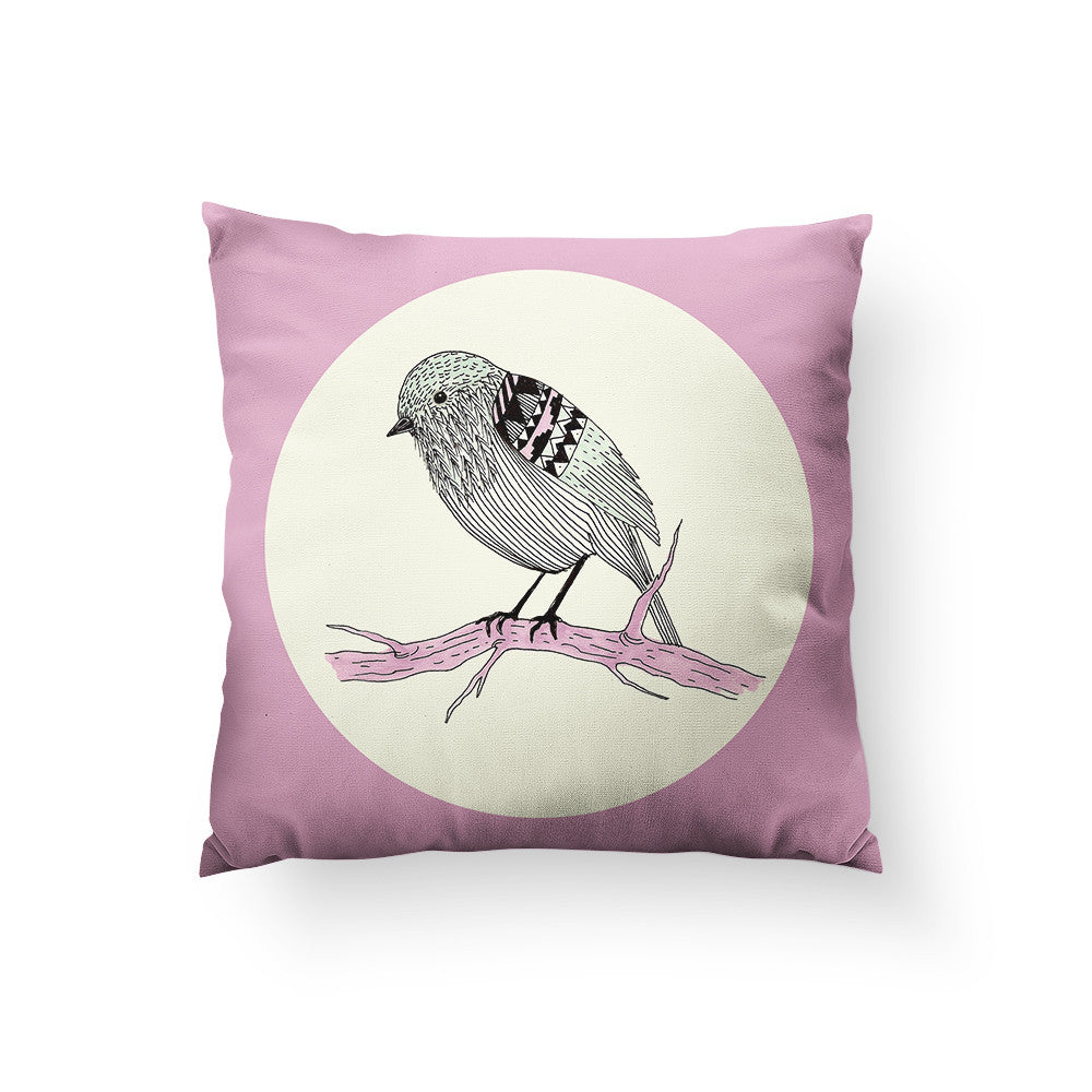 Lil Sparrow Throw Pillow