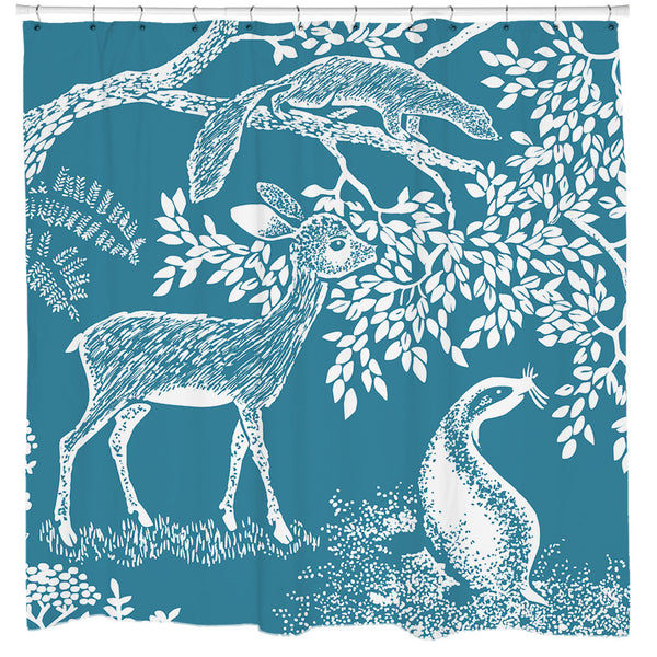 Little Deer Shower Curtain