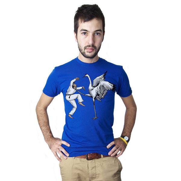 Karate Crane Men's Graphic Tee