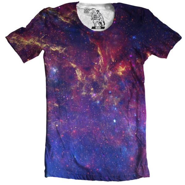 Milky Way T-Shirt Men's Graphic Tee