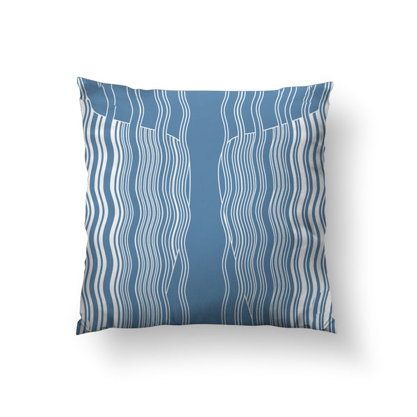 Moby Whale Throw Pillow