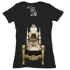 Persian Queen Women's Graphic Tee Deep V-Neck