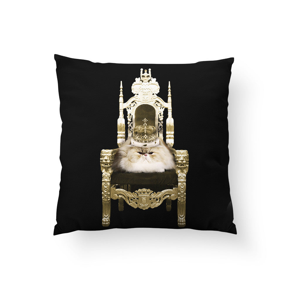 Queen Throw Pillow : Persian Queen Throw Pillow ? Sharp Shirter