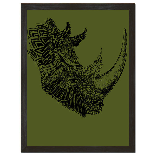 Rhino Chief Art Print