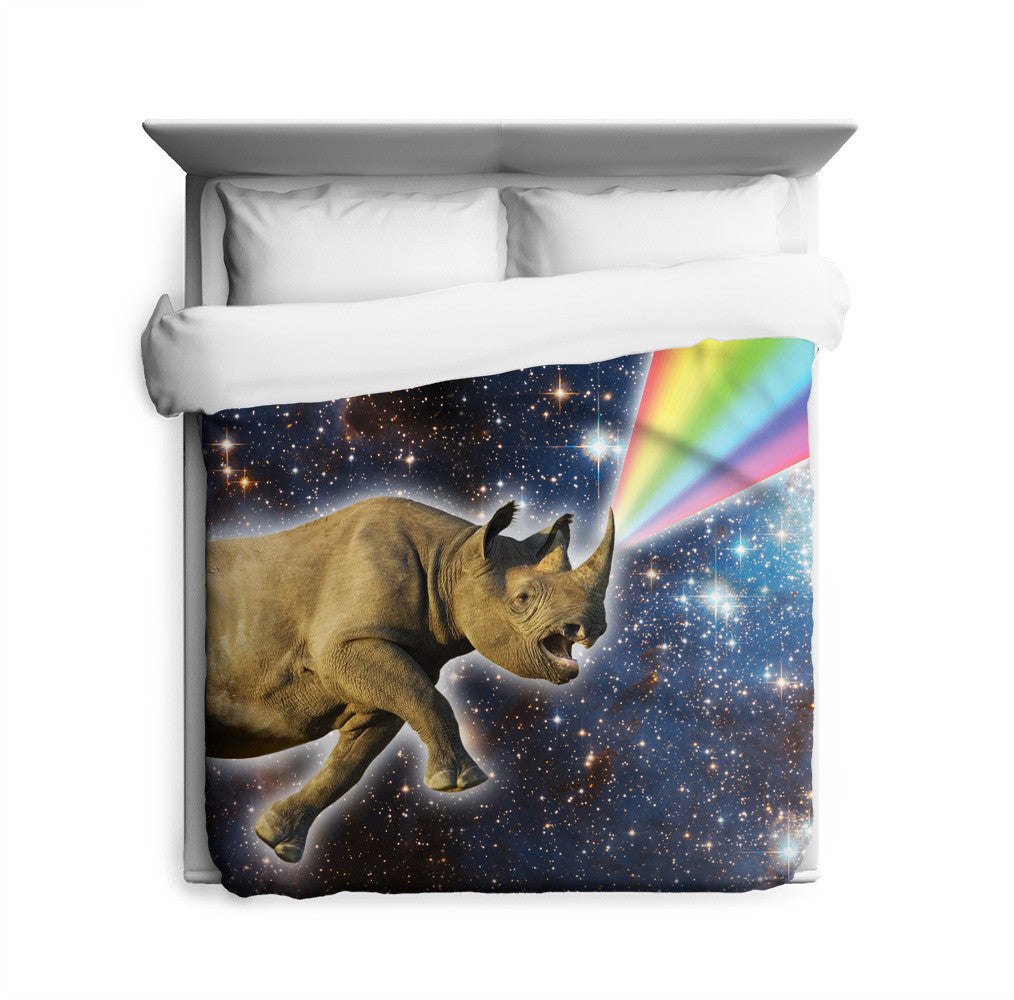 Rhinocorn Duvet Cover