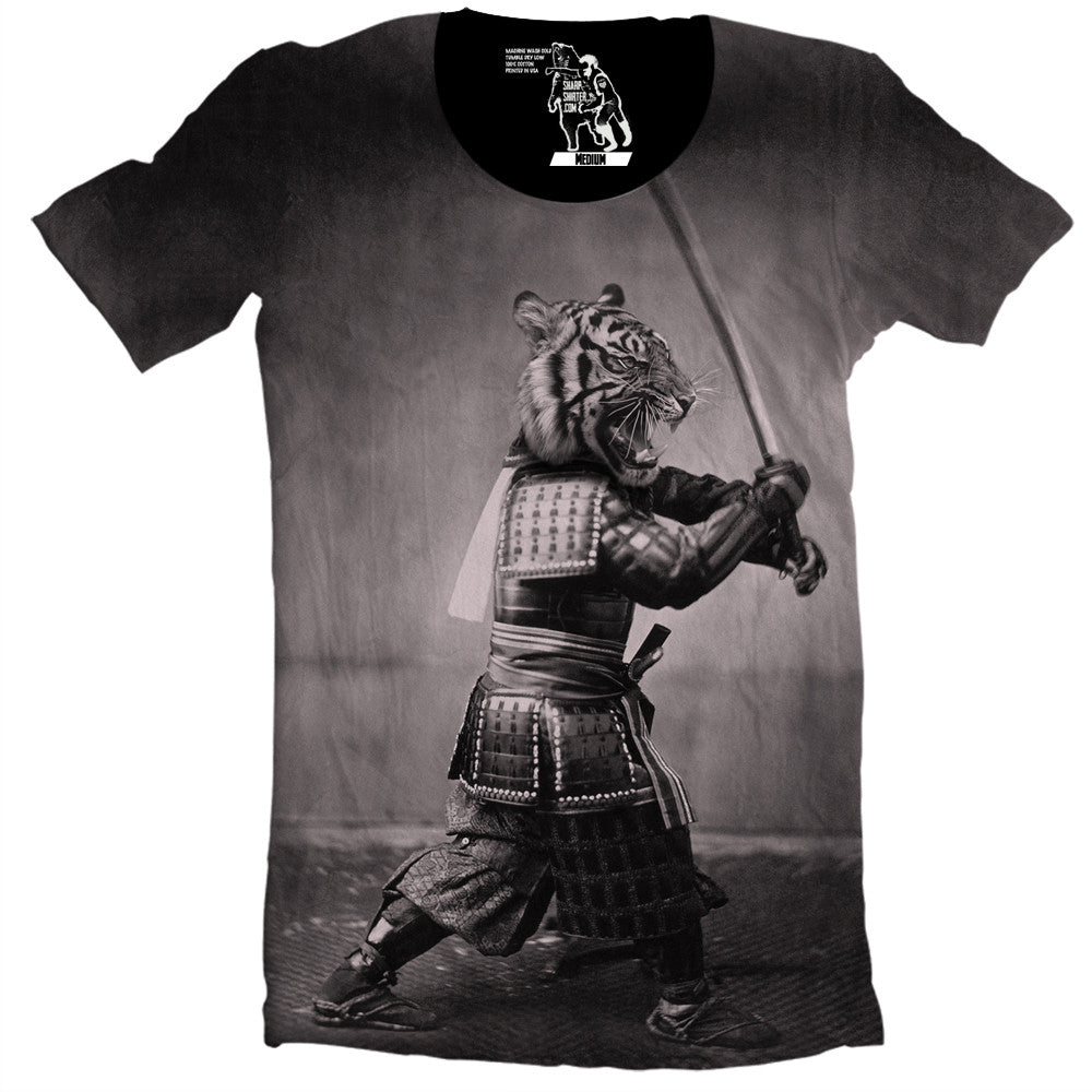Samurai Tiger Men's Graphic Tee