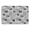 Shady Cats Bath Mat