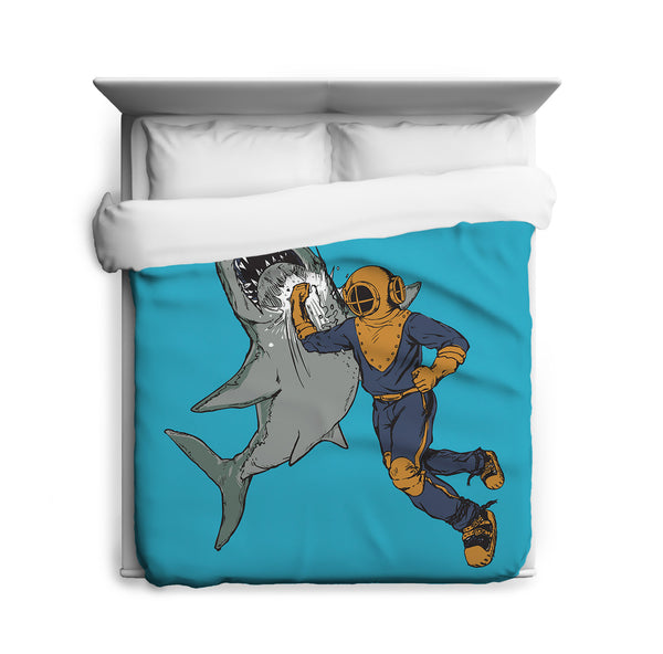 Shark Punch  Duvet Cover