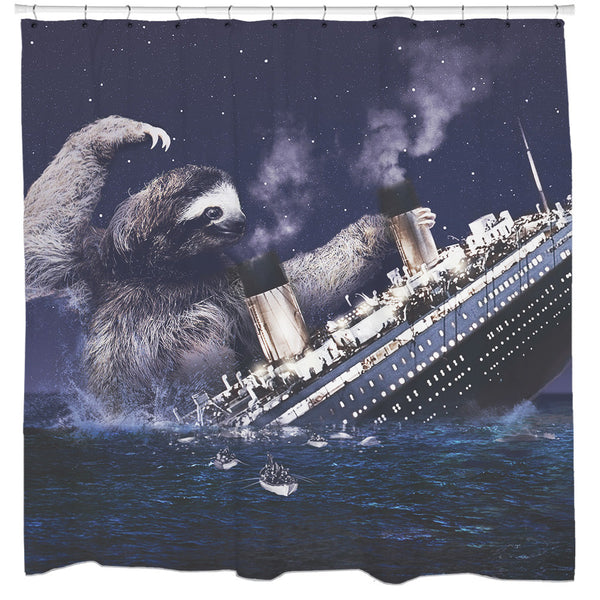 Slothberg Shower Curtain