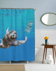 Slothvana Shower Curtain