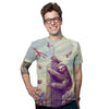 Slothzilla Men's Graphic Tee