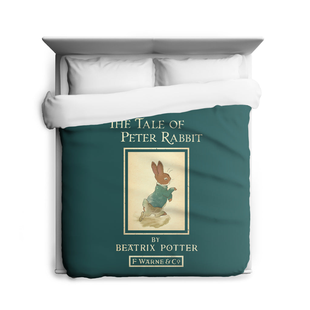 Tail of Peter Rabbit Duvet Cover