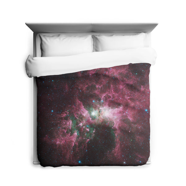 The Tortured Clouds of Eta Carinae Duvet Cover
